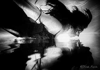 Lingerie Chiaroscuro Artwork by Photographer Daniel Amick