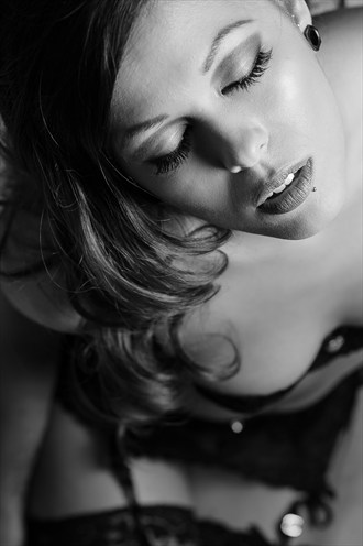 Lingerie Close Up Photo by Model EchoManika
