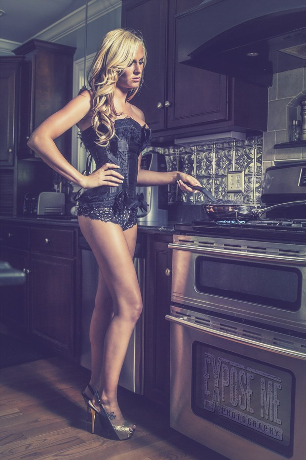 Lingerie Erotic Photo by Photographer Expose Me Photography