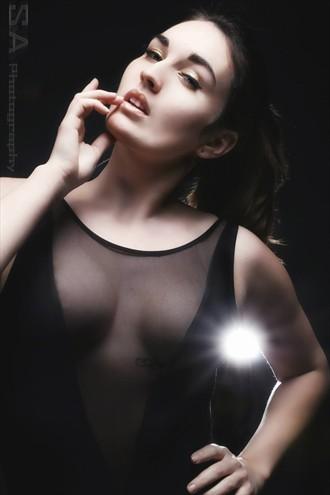 Lingerie Fashion Photo by Model Irene Savona