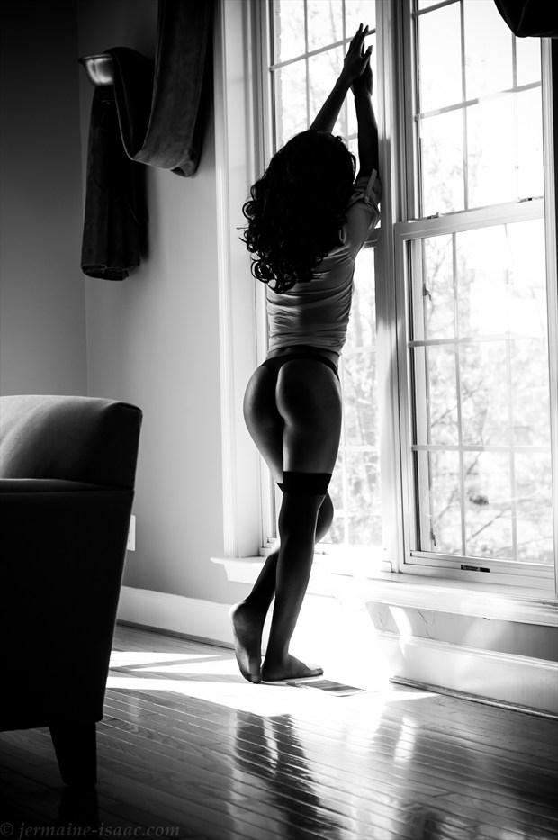 Lingerie Figure Study Photo by Model Talmesha Keonna