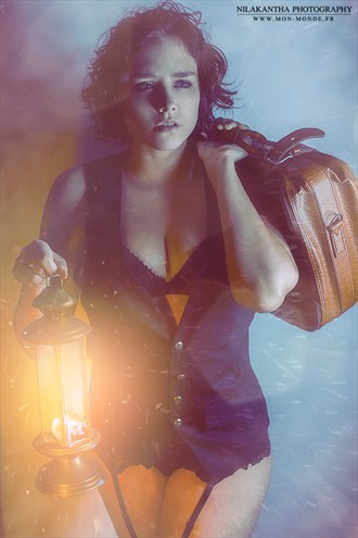 Lingerie Glamour Artwork by Photographer Nilakantha