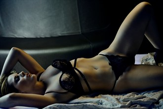 Lingerie Glamour Photo by Model Ifa Brand