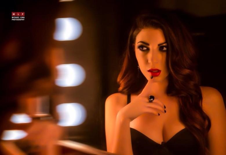 Lingerie Glamour Photo by Model Tarah McDaniel