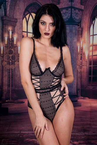 Lingerie Glamour Photo by Photographer RichRMG_Photography
