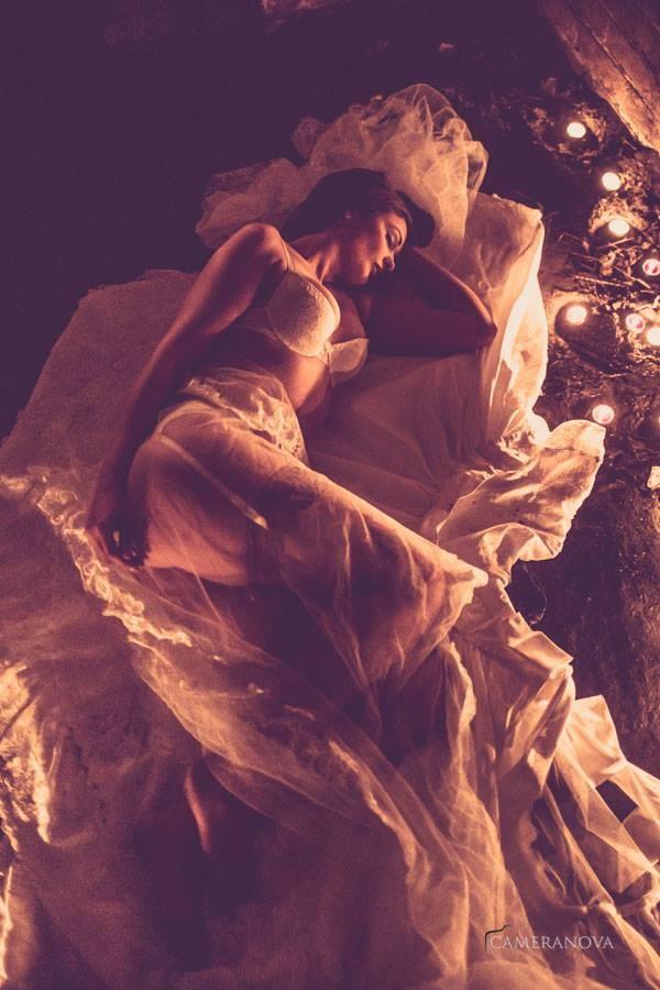 Lingerie Sensual Artwork by Model Saffira