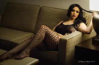 Lingerie Sensual Photo by Model Jojo West