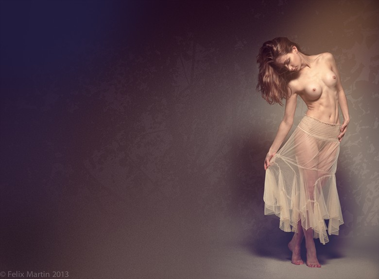 Lingerie Studio Lighting Artwork by Photographer felix martin