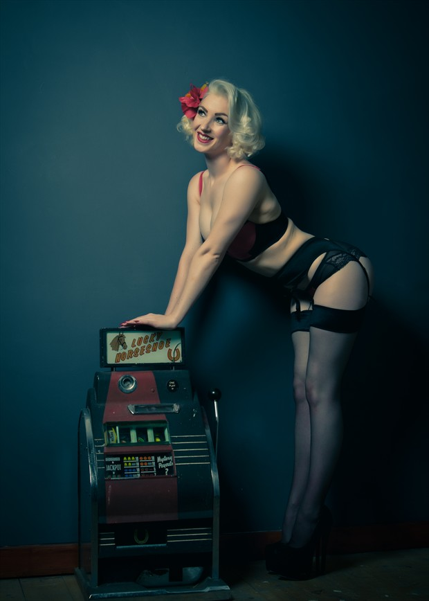Lingerie Vintage Style Photo by Photographer Malurwin
