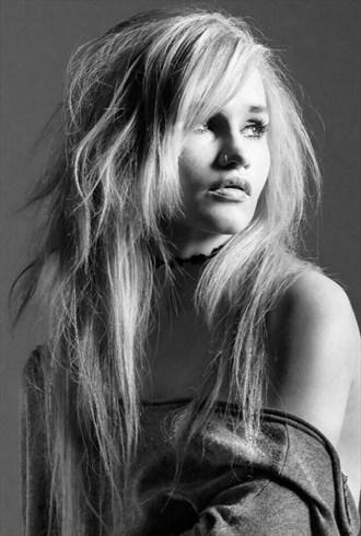 Lit Up Portrait Photo by Model Amy Coco