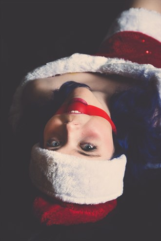 Little Miss Claus Fetish Photo by Model CheekyAngel Modeling