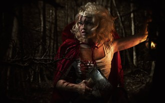 Little Red Riding Hood Nature Photo by Photographer Chris Conway