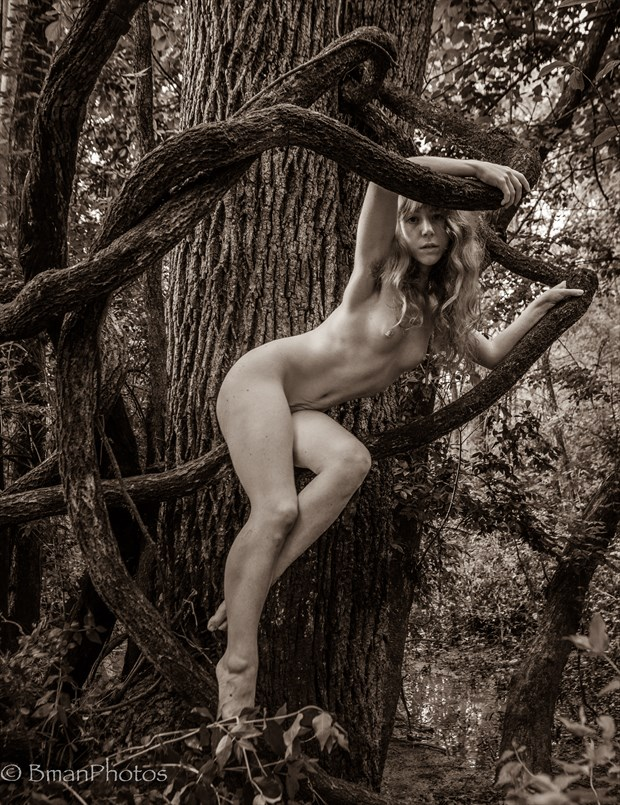 Liv Sage Artistic Nude Photo by Photographer BmanPhotos