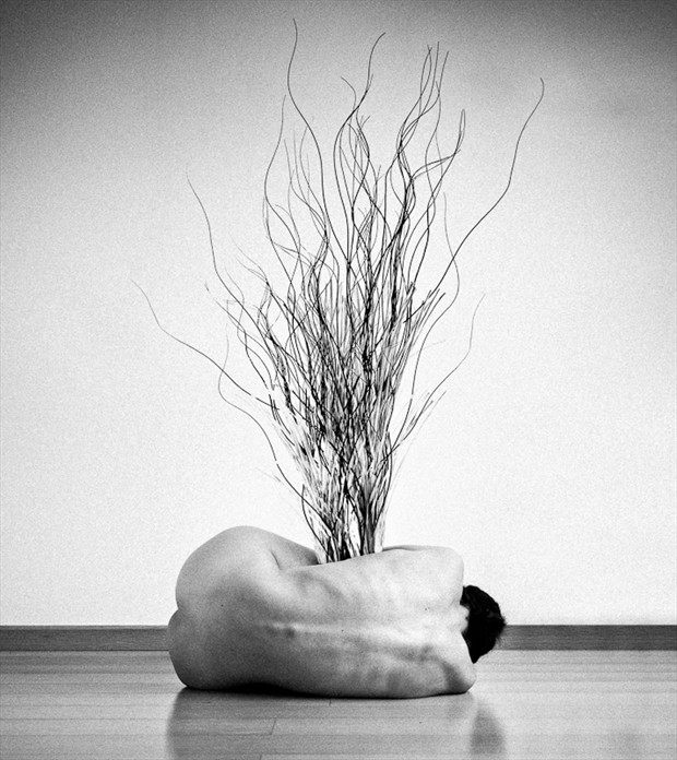 Living Vase Artistic Nude Photo by Photographer Alexander Kharlamov