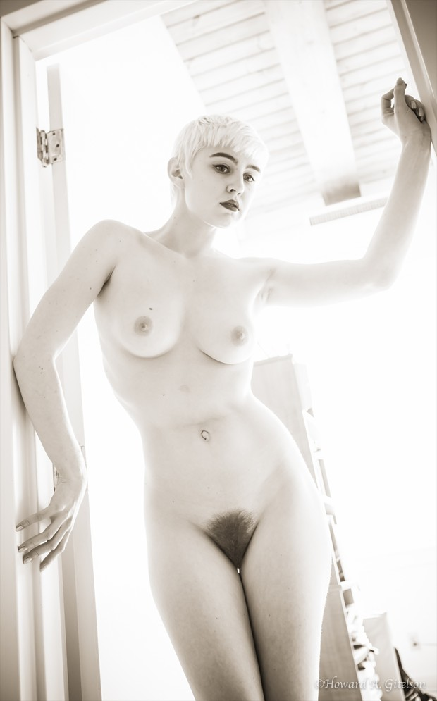 Lo, beautiful in back lighting Artistic Nude Photo by Photographer HGitel