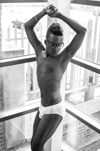 London, England Figure Study Photo by Model Orlando Parker Jr