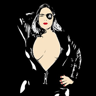London Andrews T Shirt Design %231 Erotic Artwork by Artist boot cheese 3000