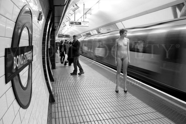 London Underground Artistic Nude Photo by Photographer MW Photo