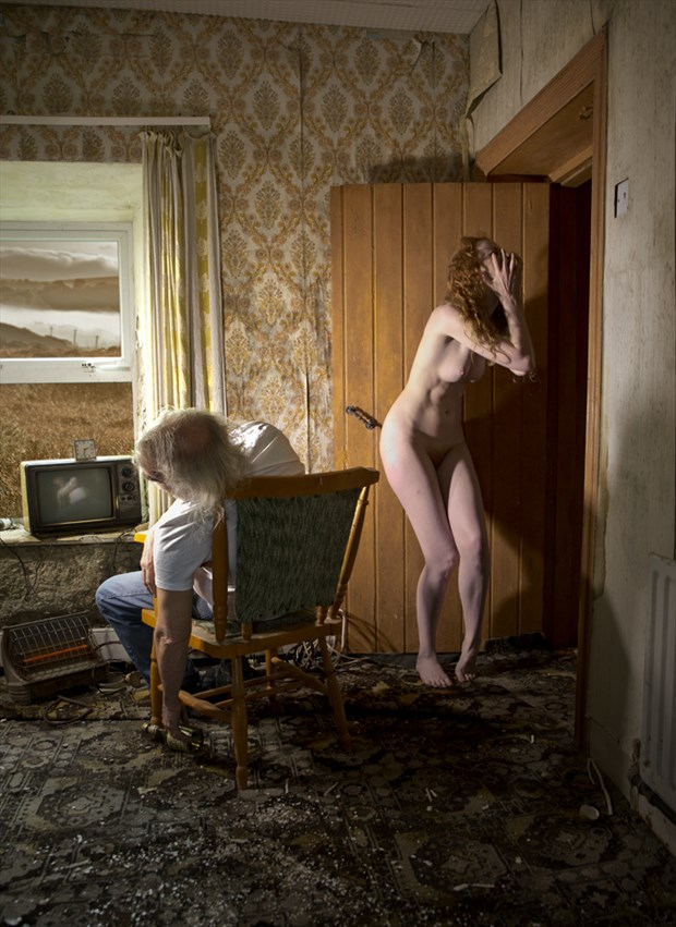 Loneliness, horror and addiction Artistic Nude Photo by Photographer Douglas Ross