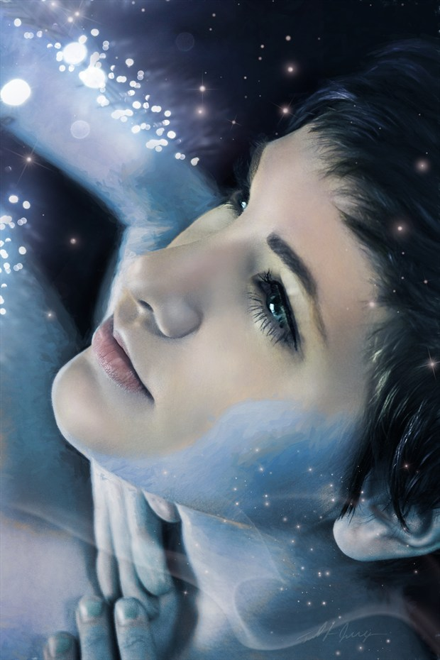 Look at the Stars Fantasy Artwork by Artist Todd F. Jerde