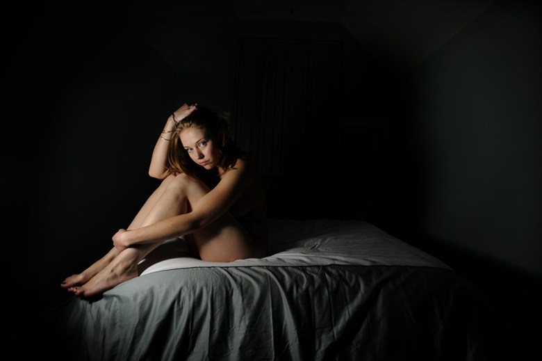 Looking at Midnight Artistic Nude Photo by Model AnudeMuse
