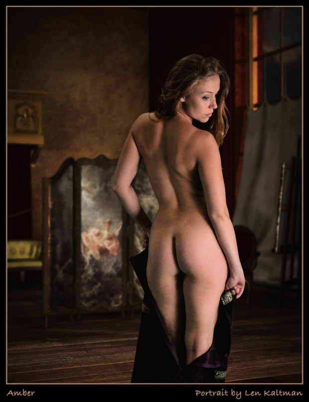 Looking back through history of thoughts Artistic Nude Artwork by Model AnudeMuse