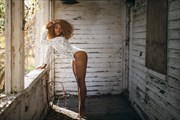 Looking through the porch Soft Focus Photo by Model Rayne O'Reilly