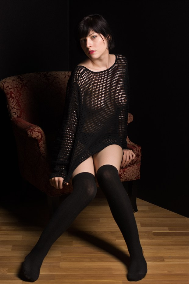 Loose knit Erotic Photo by Photographer Bruce M Walker