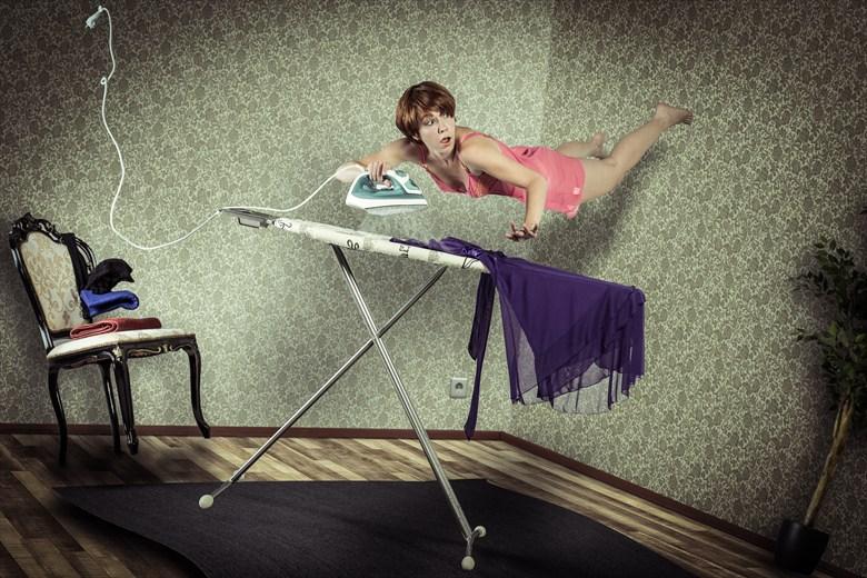 Losing Gravity Surreal Artwork by Photographer Edwin van Wijk