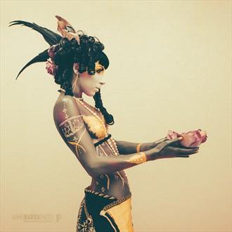 Lotus Artistic Nude Photo by Model Floofie