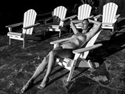 Lounge Lizard Artistic Nude Photo by Model Catalina Cruise