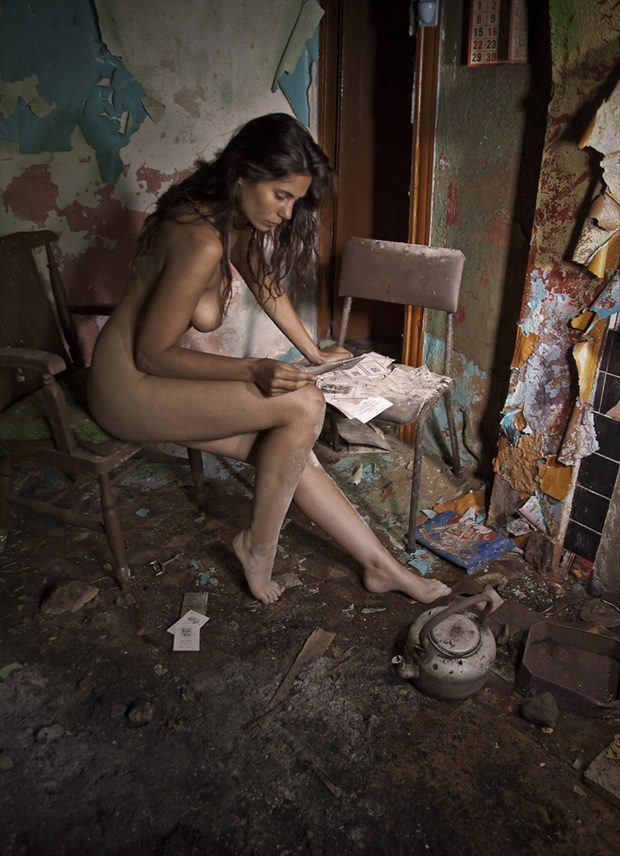 Love Letters Artistic Nude Photo by Photographer Douglas Ross