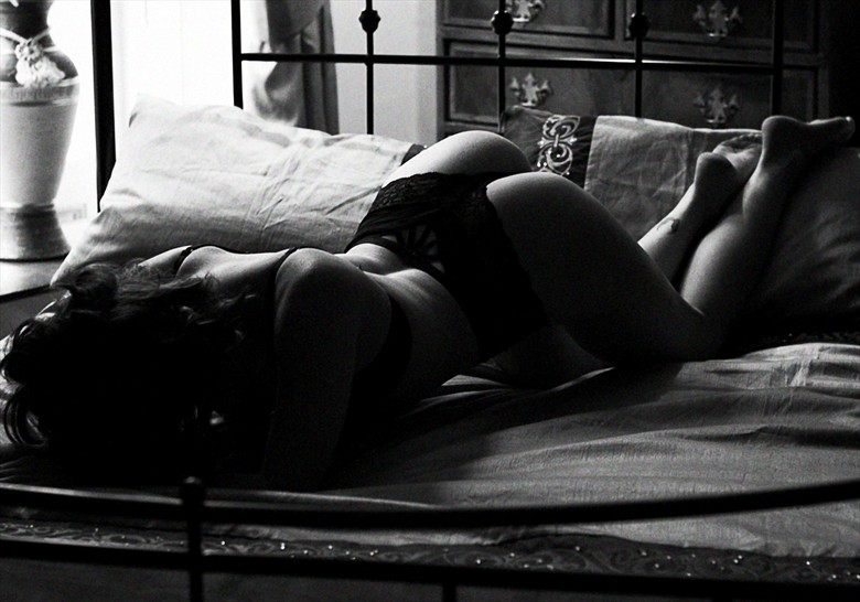 Love is a trap. When it appears, we see only its light, not its shadows Lingerie Photo by Photographer Ellie Kellam