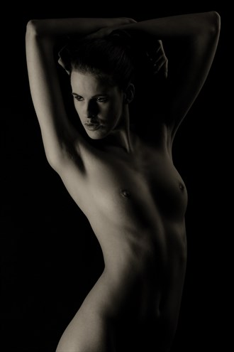 Low key nude 1 Artistic Nude Photo by Photographer Paul Ekert