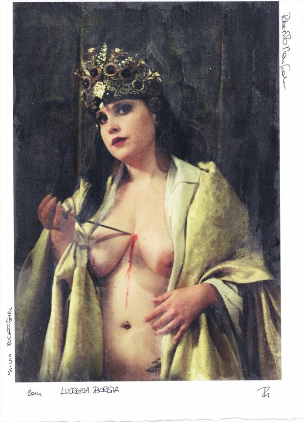 Lucrezia Borgia Artistic Nude Photo by Model Pocket Girl