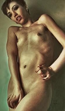 Lucy Artistic Nude Artwork by Artist Van Evan Fuller