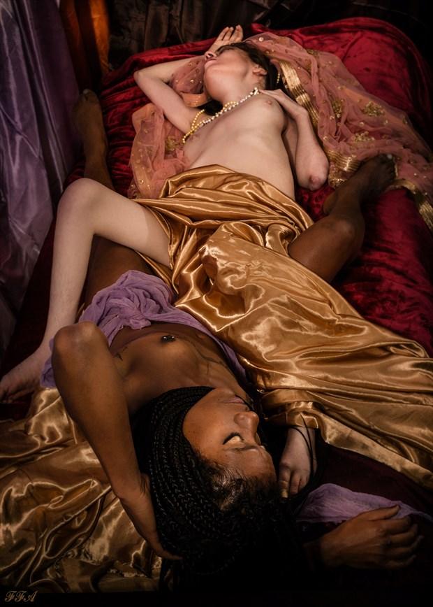 Luxurious Artistic Nude Photo by Model Jocelyn Woods
