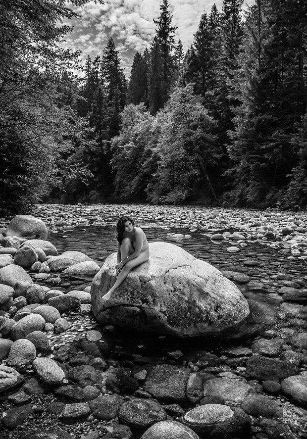Lynn Creek Artistic Nude Photo by Photographer Dan West