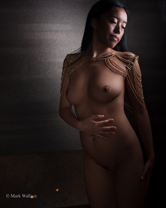 MIchi Artistic Nude Photo by Photographer Mark Wallace