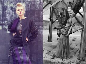 MODO magazine Fashion Photo by Model alissa