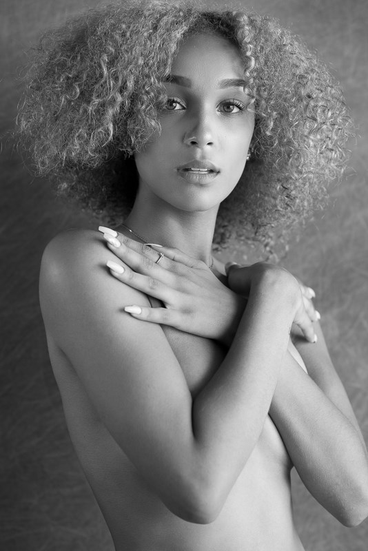 Mackenzie Implied Nude Photo by Photographer Kevin Kolber