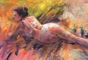 Maddie 2 Artistic Nude Artwork by Artist Rod
