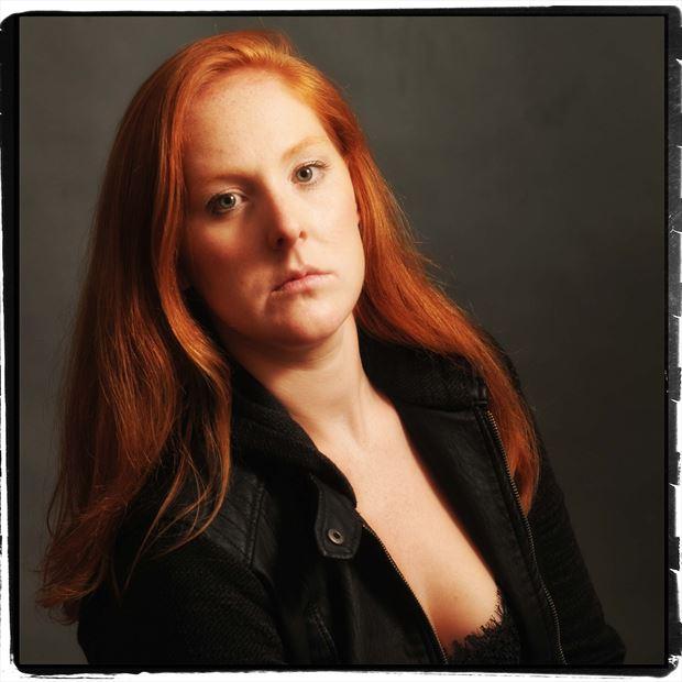Maddie_comedian  portrait for promotion Studio Lighting Photo by Photographer erichamburg