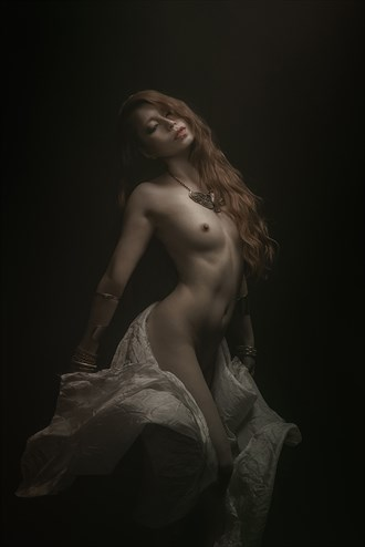 Maenad Artistic Nude Photo by Model Caroline Madison