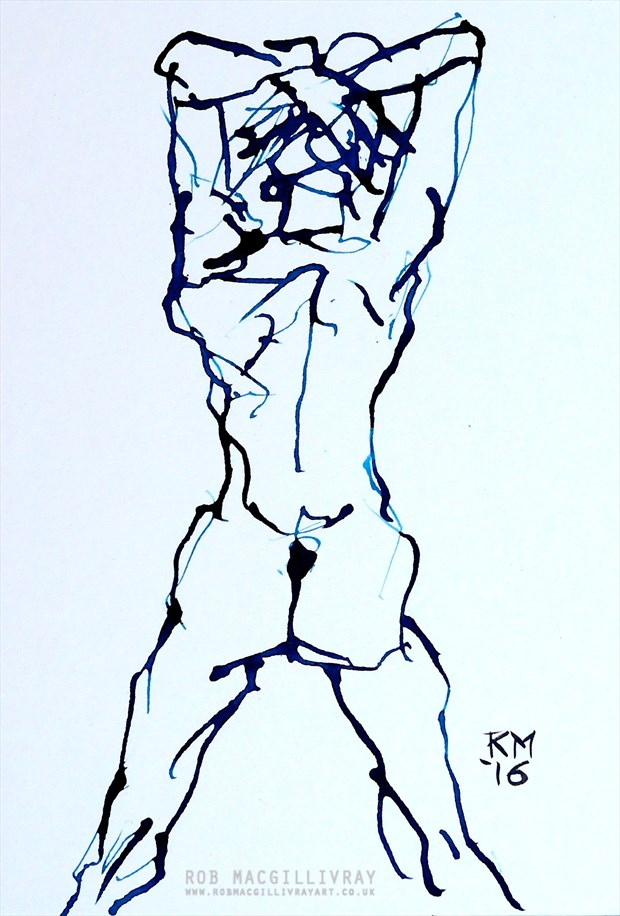 Magnificent Artistic Nude Artwork by Artist Rob MacGillivray