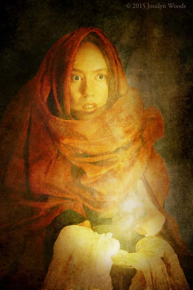 Maiden of the New Jerusalem Surreal Photo by Model Jocelyn Woods