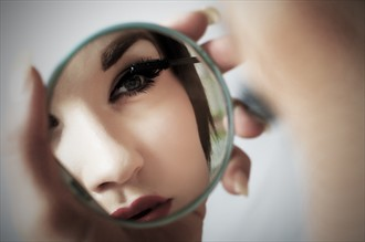Makeup Close Up Photo by Photographer Starglider