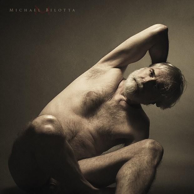Male Nude 1701 Artistic Nude Photo by Photographer Michael Bilotta