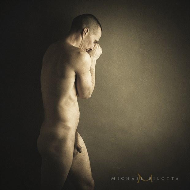 Male Nude 1704 Artistic Nude Photo by Photographer Michael Bilotta