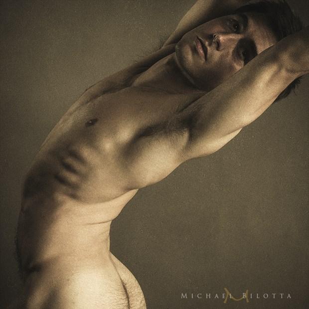 Male Nude 1710 Artistic Nude Photo by Photographer Michael Bilotta